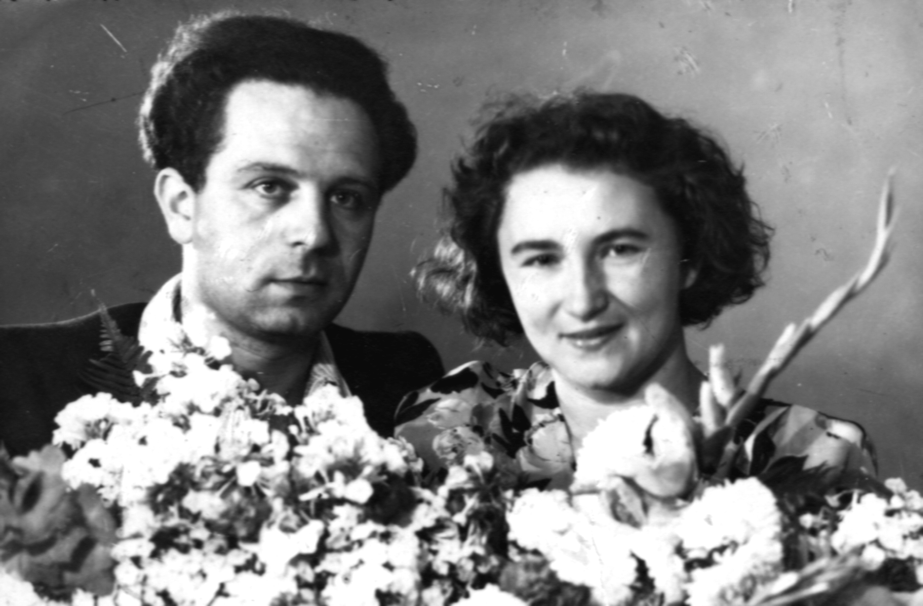 4.Свадьба Галины и Ефима.1952. Киев, Украина.