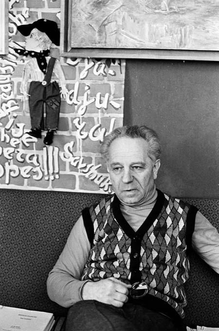 6.В своем киевском кабинете. 1970-е.